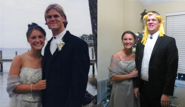 prom side by side