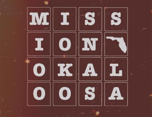 Mission Okaloosa marroon
